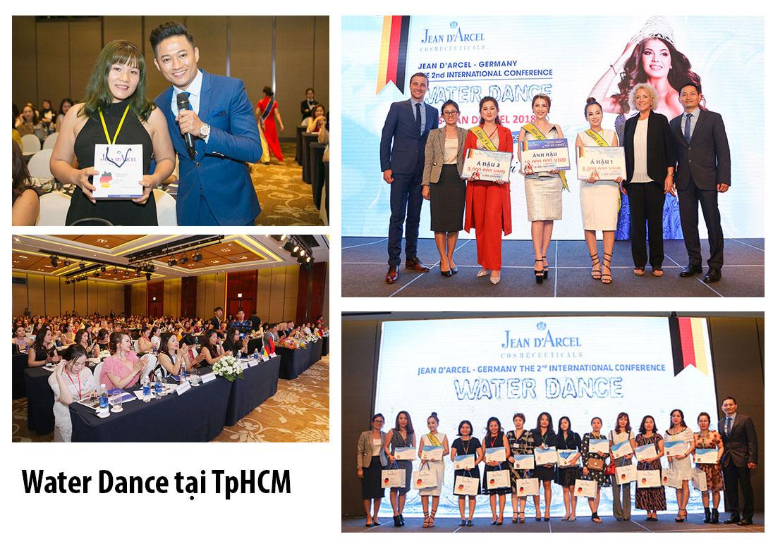Hội nghị da liễu quốc tế Water Dance TpHCM