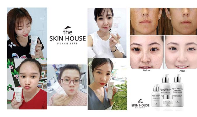 Review sản phẩm làm trắng The Skin House